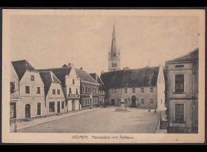 AK Dülmen bei Coesfeld Marktplatz Verlag Brabender (20356
