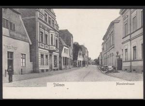 AK Dülmen bei Coesfeld Münsterstrasse Verlag Sievert (20360