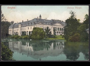 AK Coesfeld Schloss Varlar 1916 nach Münster (20369