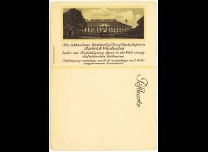 AK Biebrich Wiesbaden Postkarte Reklame Henkell Trocken (3045