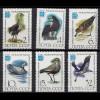 Russia - Soviet Union 1982 Mi.5181-86 Birds Ornithologists Congress, set (83031