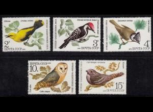 Russia - Soviet Union 1979 Mi.4883-4987 Birds Vögel MNH ** set (83010
