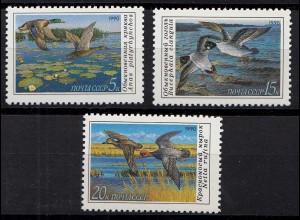 Russia - Soviet Union 1990 Mi. 6099-01 Enten Vögel ** MNH set (83019