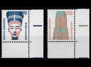 Bund BRD 1988 Mi. 1374-75 ** Sehenswürdigkeiten Eckrand UR LUXUS (20811