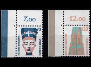Bund BRD 1988 Mi. 1374-75 ** Sehenswürdigkeiten Eckrand OL LUXUS (20814