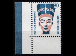 Bund BRD 1988 Mi. 1374 ** Sehenswürdigkeiten Eckrand UL LUXUS 70 Pfg. (20820