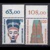 Berlin 1988 Mi. 814-15 ** Sehenswürdigkeiten Oberrand LUXUS (20851