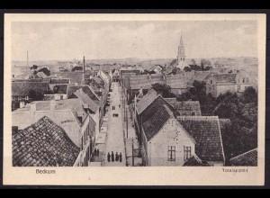 AK Beckum Westfalen Straßenansicht Totalansicht (b404