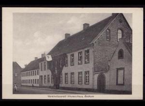 AK Beckum Westfalen Vereinslazarett Vinzenzhaus (b405