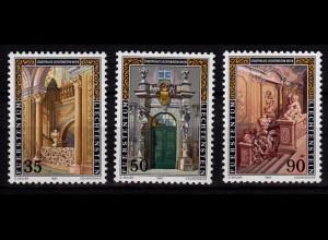 Liechtenstein Stadtpalais 1987 Mi. 925-27 ** (c012