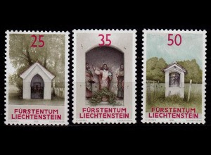 Liechtenstein Bildstöcke 1988 Mi. 951-53 ** (c019