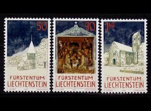 Liechtenstein Weihnachten 1992 Mi.1050-52 ** unter Postpreis (c052