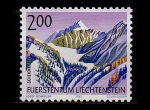 Liechtenstein Freimarke Berge 1993 Mi. 1059 ** unter Postpreis (c056