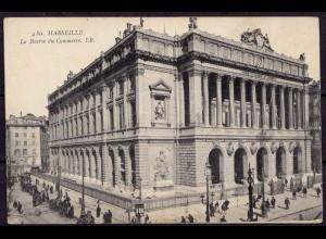 AK Marseille im Departement Boûches- du- Rhône Frankreich Börse (7599