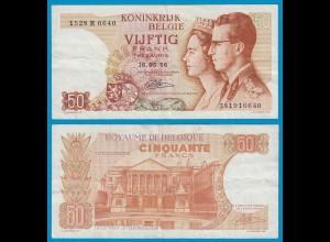 Belgien - Belgium 50 Francs 16-05-1966 - Pick 139 VF (19109