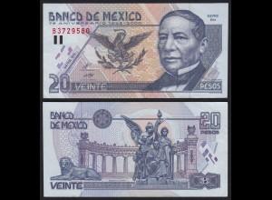 MEXIKO - MEXICO 20 Pesos Banknote 2000 UNC Pick 111 (21130