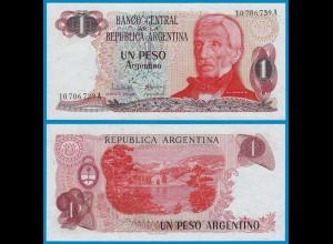 Argentinien - Argentina 1 Pesos 1983 Pick 311a UNC (21064