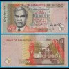 MAURITIUS - 100 RUPEES BANKNOTE 1999 Pick 51a VF (21021
