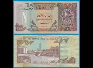 Katar - Qatar 1 Riyal Banknote (1980) Pick 7 UNC (21016