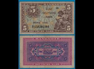 BDL - 5 Deutsche Mark 1948 Ros. 236a etwa VF (3) B45828439A (21015
