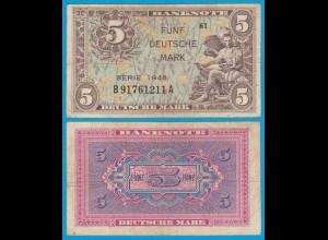BDL - 5 Deutsche Mark 1948 Ros. 236a etwa VF (3) B91761211A (21014