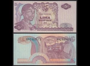 Indonesien - Indonesia 5 Rupiah REPLACEMENT 1968 Pick 104 UNC (1) (21152
