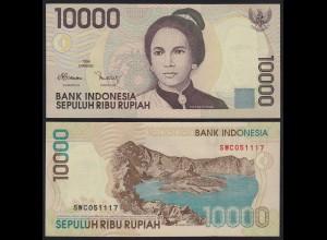 Indonesien - Indonesia 10000 10.000 Rupiah 1998/1999 Pick 137b UNC (1) (21155