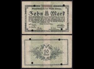Altona - Hamburg 20 Mark 1918 Notgeld gebraucht (21370
