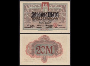 Altona - Hamburg 20 Mark 1918 Notgeld (21372