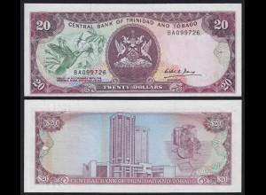 Trinidad & Tobago 20 Dollar Banknote Pick 39b UNC (1) (21500