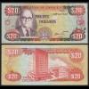 JAMAIKA - JAMAICA 20 Dollars Banknote 1996 Pick 72f VF (3) (21504