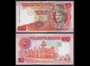 Malaysia 10 Ringgit Banknote ND (1989) Pick 29 UNC (1) (21553