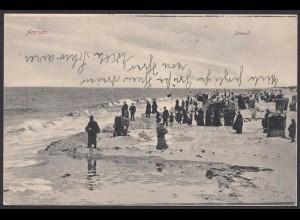 AK Amrum Am Strand von 1923 (21586