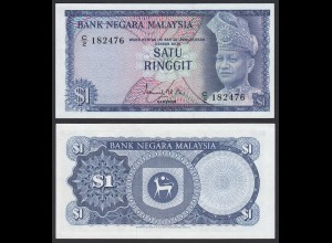 Malaysia 1 Ringgit Banknote 1967/72 Pick 1a UNC (1) (21592