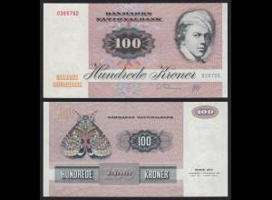 Dänemark - Denmark 100 Kroner (1986-91) Pick 51f XF (2) 21607