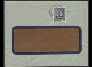 Deutsches Reich Infla Brief Mi. 130 EF geprüft München Sendlinger Oberfeld