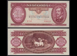 UNGARN - HUNGARY 100 Forint 1992 Pick 174a aUNC (1-) (21724