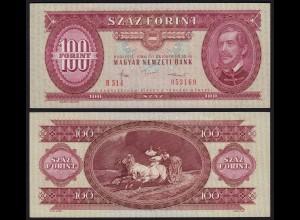 UNGARN - HUNGARY 100 Forint 1984 Pick 171g aUNC (1-) (21725