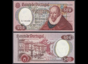 Portugal - 500 Escudos Banknote 1979 Pick 177 aUNC (1-) (21736