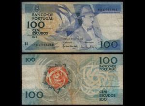 Portugal - 100 Escudos Banknote 26.5.1988 Pick 179e F (4) (21739