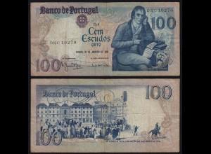Portugal - 100 Escudos Banknote 1984 - Pick 178c F (4) (21785