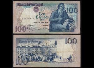 Portugal - 100 Escudos Banknote 1984 - Pick 178c fast VF (3-) (21816