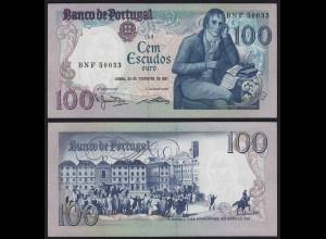 Portugal - 100 Escudos Banknote 1981 - Pick 178b UNC (1) (21810