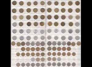 Jugoslawien - YUGOSLAVIA - Münzen-Sammlung 57 Stück (4831