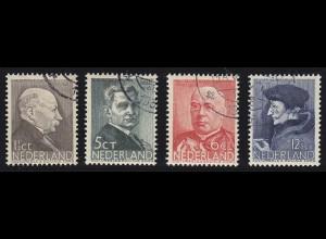 Niederlande Mi. 291-294 Sommermarken Serie 1936 gestempelt Mi.9,50 € (4720