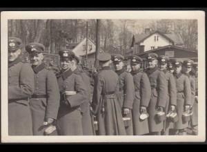 AK Soldaten Offiziere WW2 Foto Voigtlander WW2 ca. 9x14 cm (13301