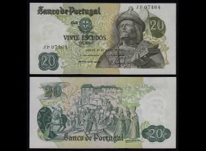 Portugal - 20 Escudos Banknote 1971 - Pick 173 UNC (1) (21824