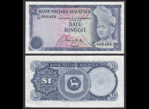 Malaysia 1 Ringgit Banknote ND Pick 13a VF (3) (21791