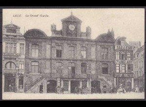 AK Lille la Grand Garde Hotel France Frankreich (3664