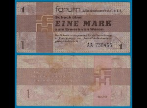 DDR Forumscheck 1 Mark 1979 Ros. 368a VF (3) (20988